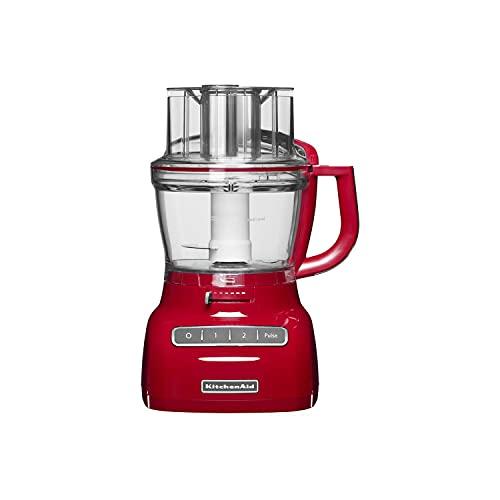 KitchenAid 5KFP1335 - Robot de cocina (Rojo, 7.8 kg, 280 mm, 260 mm, 50/60 Hz, 220-240 V)