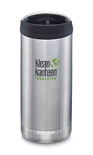 Klean Kanteen TKWIde 32oz (w/Wide Loop Cap) - Brushed Stainless, 1 EA