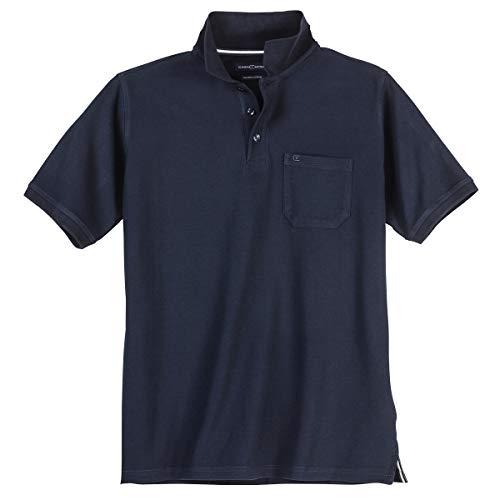 Polo-Shirt Herren Übergröße Navy Casa Moda, XL Größe:6XL