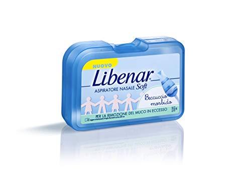 Libenar Aspiratore Nasale Soft Beccuccio Morbido Da 0 Mesi + 20 Filtri Monouso