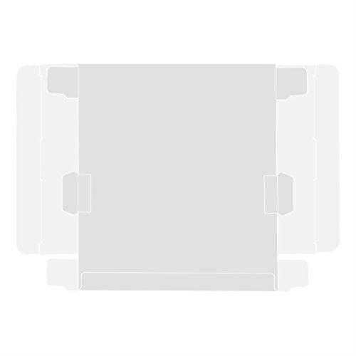 PUSOKEI 10 Uds Protectores de Juegos en Caja Pet Transparente Funda Protectora de Cartucho para Nintendo Game Boy GBA Juego en Caja