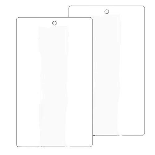 GEEKEN Paquete de 2 Protectores de Pantalla de Vidrio Templado para Tableta Fire HD 8, Dureza 9H, Transparente, Resistente una los AraaAzos (2016 2017 2018)