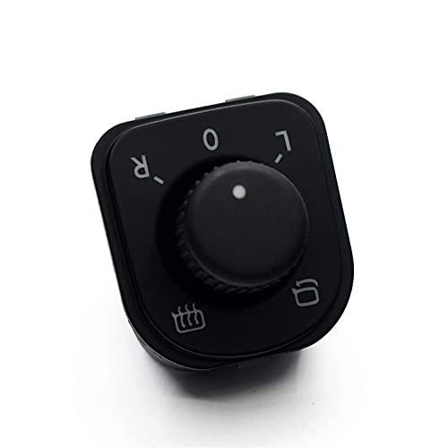 ¡Ventas directas de fábrica!Ajustar el Interruptor de Control del Espejo del Mando/Ajuste para V.W Jetta Golf 5 6 / Fit para Tiguan Passat B6 CC Seat Alhambra 1K0 959 565J (Color : Black)