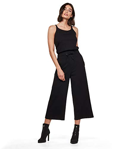 G-STAR RAW Womens Utility Strap wmn s/Less Jumpsuit, dk Black B771-6484, X-Large
