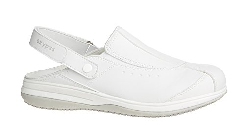 Oxypas Damen Iris Sicherheitsschuhe, Weiß (wht), 42 EU