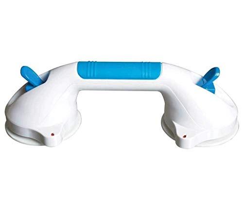 FCXBQ Ledstång, starkt armstöd utan punkt, glidskydd, säkerhetshandtag, passar för badrum, badkar, glastrappa (storlek: Kort)