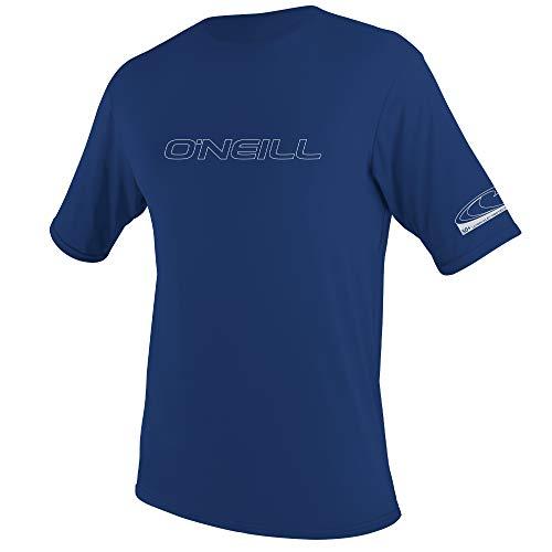 O'Neill Muta Uomo Basic Skins - Maglietta da Sole a Maniche Corte, Uomo, 3402-016-M, Marina Militare, M