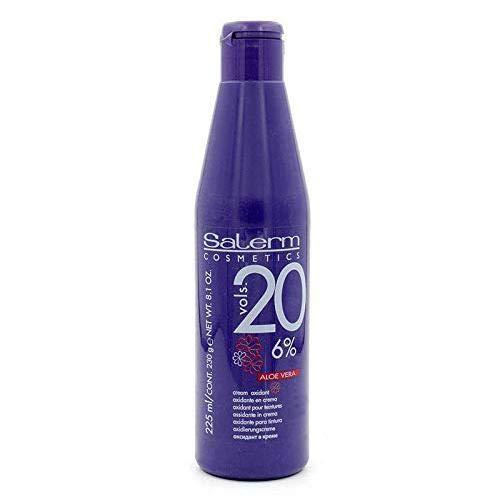 Salerm Cream Oxidant Volume 20 with Aloe Vera 8.1oz