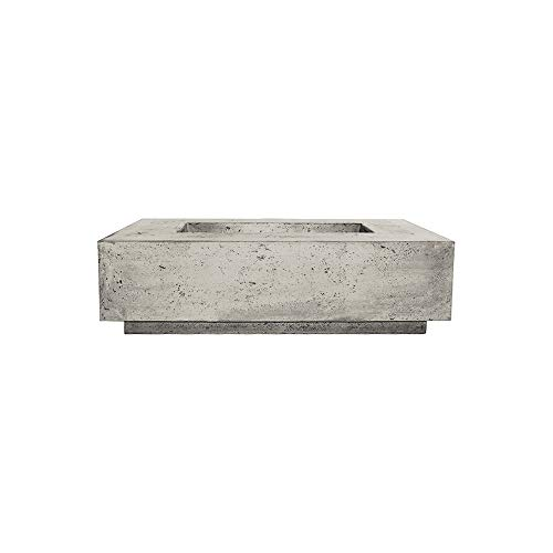 Best Review Of Prism Hardscapes Tavola 1 Concrete Gas Fire Pit (PH-405-3LP), Propane, Natural, 56x38...
