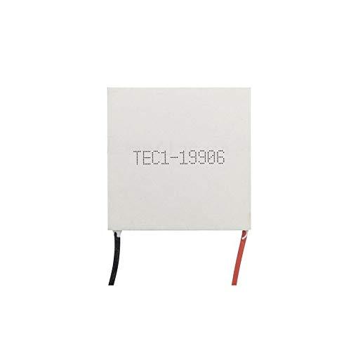 FEIYI Andere Modulplatine TEC1-19906 40 x 40 mm DC 24 V 6 A Halbleiter-Chip für Kühler, Kühlschrank und Gefrierschrank