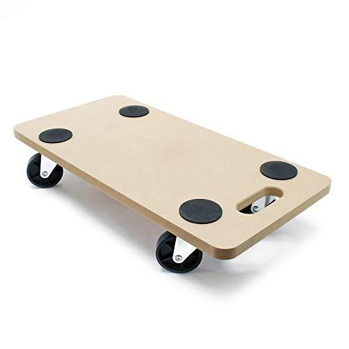 Chariot de transport à roulettes pour Meuble Charge lourde Plaque MDF 580x290mm 250 kg Déménagement