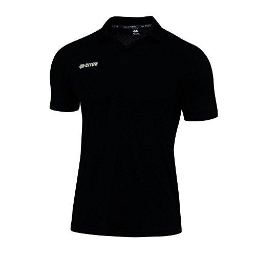 AYERS Herren Sportpolo · MULTISPORT Poloshirt einfarbig · UNIVERSAL Polohemd für Jugendliche & Erwachsene Farbe schwarz, Größe 3XL