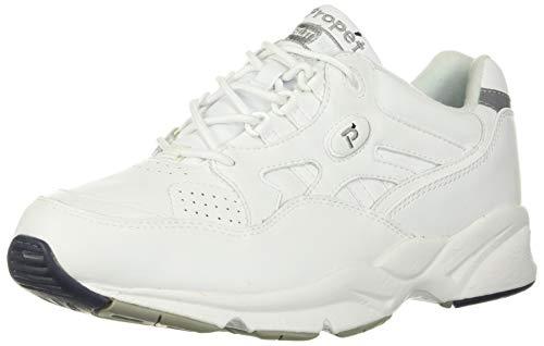 Propet Women's W2034 Stability Walker Sneaker,White,9 W (US Women's 9 D)
