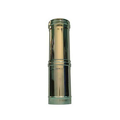 combustion de l'élément télescopique DN 120 tube en acier inoxydable INOX 316