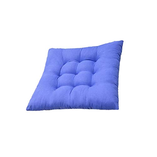 ZZYJYALG Cojín almohada Asiento de algodón Cojín de oficina Silla de la barra del asiento trasero del cojín del sofá cómodos cojines almohadilla de la silla de glúteos for Cojín sofá de la silla de of