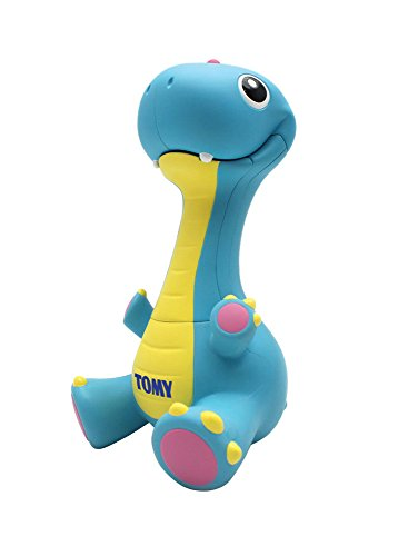 TOMY Toomies Stomp and Roar Dinosaur, Baby Musical Toy with Colours & Sounds, Baby Interactive Toy Suitable for Babies Boys and Girls from 6 Months +