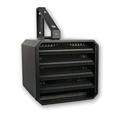 StelPro ARUH5CHAR 5000W 240V Commercial and Residential Unit Heater, Textured Charcoal