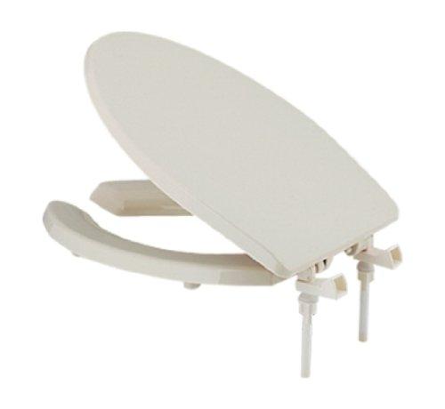 カクダイ トイレ補修 前割便座 標準 大型サイズ 兼用 パステルアイボリー 233-815