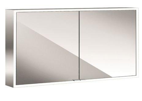 EMCO ASIS LED-spiegelkast PRIME, AP 1200 mm, 2-deurs, achterwand spiegel, kleurverandering, HSN 949706064