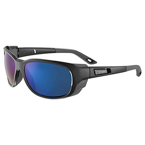 Cébé Everest Gafas de sol Adultos unisex Matt Black Grey Medium