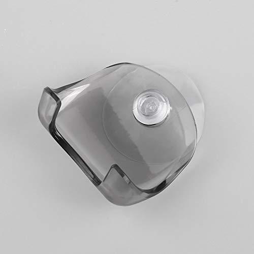 deYukiko Super zuignap-scheermes-frame badkamer-scheermes-houder scheerapparaat geheugen-frame houder grijs