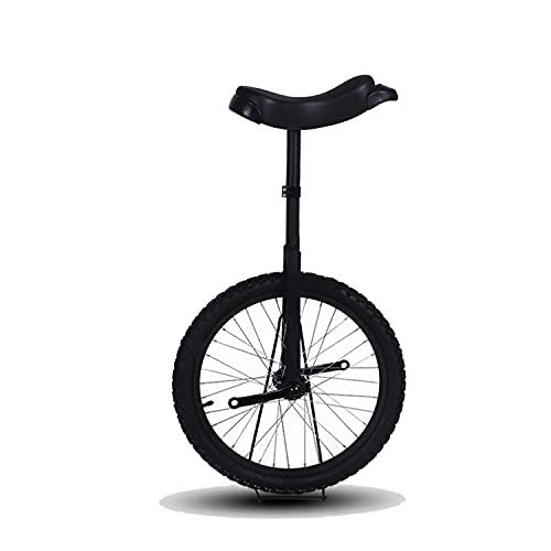 Women's Health Kids 'Monociclo - Altura Ajustable Monociclo Entrenador - Una Rueda Monociclos Acero con Pedales y Neumáticos Antideslizantes - Monociclo Ajustable para Principiantes, Niños y Adultos