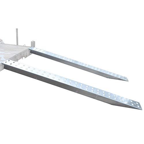 Auffahrrampe für Autotransporter, Bagger-Maschinenrampe, 3 - 1/2 Tonnen, 2,5 m