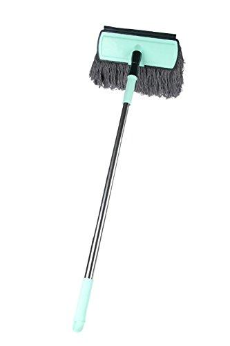 Grattage brosse de lavage de voiture rétractable long manche lave-auto brosse voiture outils de nettoyage brosse de lavage de voiture en acier inoxydable