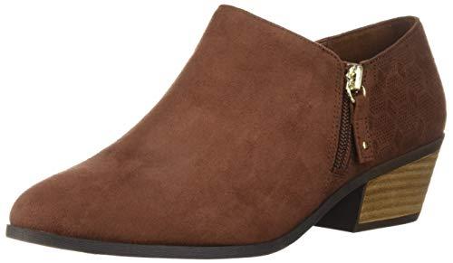 Dr. Scholl's Shoes Damen Brief Stiefelette, Kupferbraunes Mikrofaser-Wildleder, 42 EU