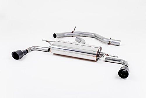 Sport Auspuff Milltek SSXVW183 Anlage ab KAT | DPF (TÜV) Kompatibel zu: Golf GTI (155 kW /210 PS) | HSN: 0603 | TSN: APL | Golf VI GTI (1K) 5-Türer Schrägheck DSG