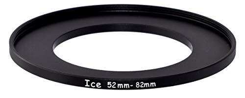 ICE 52mm to 82mm Step Up Ring Filter/Lens Adapter 52 Male 82 Female Stepping