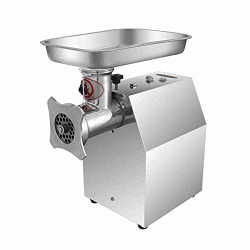 CYTT123 Picadora de Carne eléctrica multifunción picadora de Carne de Escritorio automática de Acero Inoxidable de Alta Potencia picadora de Carne de Salchicha a A