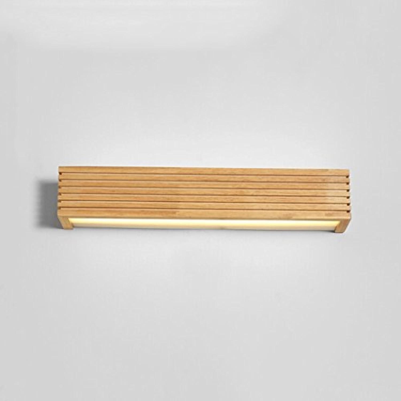 Gummi-Holz-Wandleuchte Feuchtigkeits-Bad Spiegel-Frontlicht (Farbe   45 cm-Weies Licht)