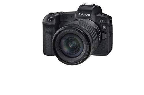 Canon EOS R + RF24-105mm F4-7.1 is STM Lens Kit, Black (Renewed)