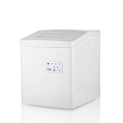 IJsblokjesmachine, draagbare ijsblokjesmachine, voor opzetstuk, maakt 26 pond ijs per 24 uur ijsblokjes, in 8 minuten – elektrische ijsmachine met ijscoop en ijsems van 1,5 lb