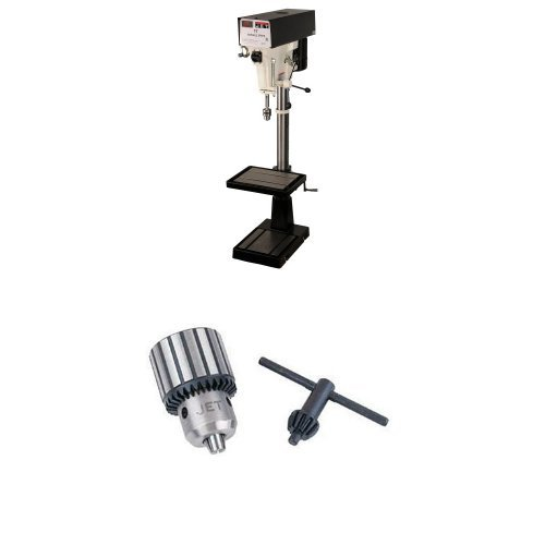 Check Out This JET J-A5818 15-Inch 1-Horsepower 230/460-Volt Three Phase Variable Speed Floor Drill ...
