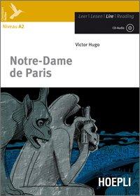 Kit libro scolastico NOTRE-DAME DE PARIS + CD + N.1 Copertine + Cavalierini ed evidenziatore