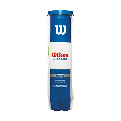 Wilson ULTRA CLUB ALL CT TBALL 4 BALL CAN