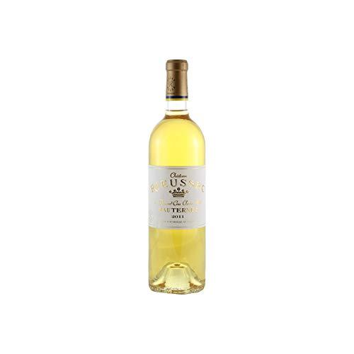 Château Rieussec Weißwein 2011 - g.U. Sauternes süßer - Bordeaux Frankreich - Rebsorte Sémillon, Sauvignon Blanc, Muscadelle - 75cl