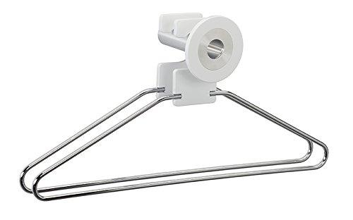 Pador Concept GmbH 'Appendiabiti in Vetro Acrilico Set Run Bianco