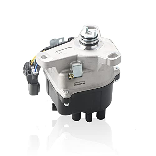 MOSTPLUS Ignition Distributor Compatible with 1997-2001 Honda Prelude H22A External Coil Casting TD-77U
