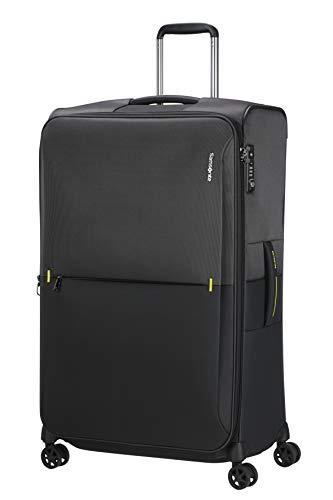 Samsonite Rythum - Spinner L Expandable Suitcase, 79 cm, 108/114 Litre, Multicolour (Graphite)