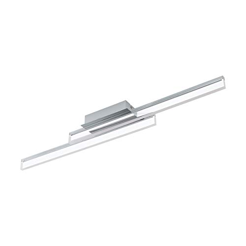 EGLO PALMITAL Wand- / Deckenleuchte, Aluminium, 10 W, chrom