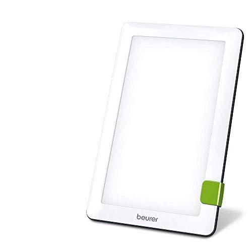 Beurer TL 30 Lampe de luminothérapie | 10 000 lux | Simulation de la lumière du jour | Lampe à lumière du jour compacte | avec support et pochette de rangement | CE médical