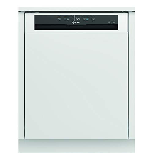 Indesit DBE2B19 14 Place Semi-Integrated Dishwasher - White Control Panel