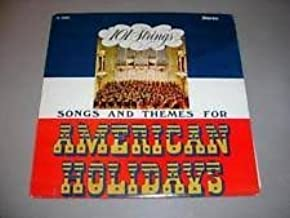 Songs and Themes for American Holidays: 101 Strings