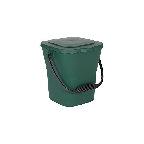 Fantastic Deal! EDA Compost Bucket 6 litres with Lid Canada Green