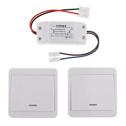 Akustikschalter Sound Lichtschalter Schallsensor Lichtsensor AC85-260V für Korridor Garage