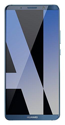 "Huawei Mate 10 Pro Dual SIM 4G 128G Mobile Phone - (15.2 CM (6 ""), 128 GB, 20 MP, Android, 8.0, EMUI 8.0), Blue (Midnight)"