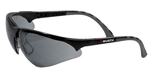 WÜRTH Schutzbrille Terminator Schwarz -Grau Linse, Würth 0899380625